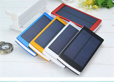600000mAh Portable Solar Power Bank Dual USBLED Backup Charger Battery For Phone