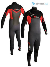 Gul Mens Response Chest Zip 3/2mm Blindstiched Steamer Wetsuit Surfing Sailing