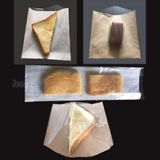 Film Front Bags Paper Clear Window Sandwiches Cards Cakes buffet Food Cellophane