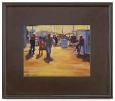 """5"""" WIDE CLASSIC MODERN PHOTO PICTURE ART PAINT FRAME PLEIN AIR WOOD BROWN LEAF"""