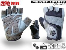 Weight Lifting Gloves Body Building Fitness Workout Wrist Training Exercise Gym