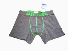 Diesel Mens Boxer Trunk Brief Stretch Bright Small Grey Green Cheap Boxers Sale