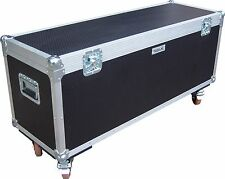 4ft - 1200 x 400 x 400 Swan Flight Mic Stand Road Trunk Case (Hex)