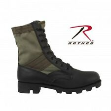 OLIVE DRAB ULTRA FORCE G.I. STYLE JUNGLE BOOTS 5 W-13 W