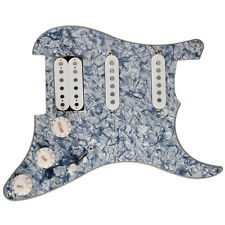 SSH Loaded Prewired Pickguard 3ply for Strat Electric Guitar Replacement Ceramic