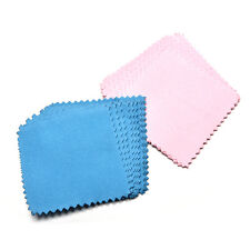 10xJewelry Polishing Cloth Cleaning for Platinum Gold and Sterling Silver 9C