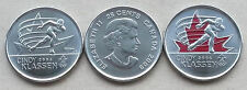 CANADA Cindy Klassen 25 Cent coin * Ordinary & Colourised * UNC from Coin Roll