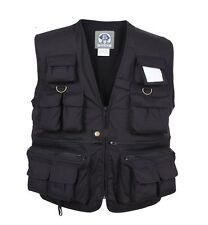 7531 Rothco Uncle Milty's Black Travel Vest