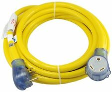 Conntek 14368 RV 30 Amp 25-Foot 10/3 Brilliant Yellow Extension Cord