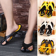 New Popular Men Summer Sandals Beach Slippers Shoes Flip Flops PVC Outdoor Shoes