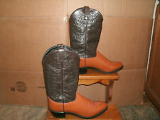 Women's Jama/Old West Leather Cowboy Western Boots