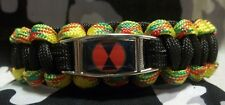 "U.S. Army 7th Infantry Division ""HOURGLASS"" Vietnam Veteran Paracord Bracelet"
