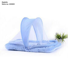 Baby Infant Portable Folding Travel Bed Crib Canopy Mosquito Net Tent Pillow New