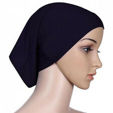 Women Islamic Muslim Head Scarf Cotton Underscarf Hijab Cover Head Wrap Bonnet