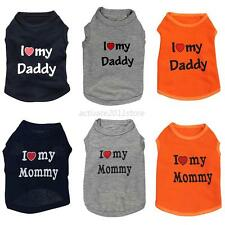 Small Pet Dog Apparel Vest Puppy Doggy Cat Clothes T-shirt Summer Vest XS S M L