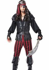 Ruthless Rogue Pirate Costume Buccaneer  Adult - S, M, L, XL Plus Size