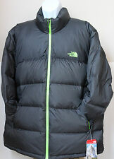 NWT The North Face Men's Nuptse 700 Goose Down Coat Jacket  Asphalt Grey 2XL