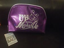 Fabulous Purple Make up bag Brand New with tags