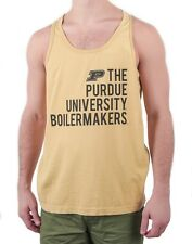Men's Purdue University Boilermakers Vertical Text Tank Top