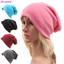 New Unisex Men/Women Warm Winter Beanie Hat Slouchy Ski Hat Oversize Hip Hop Cap