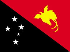 Flag of Papua Wall Print POSTER