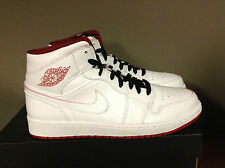 NIKE AIR JORDAN 1 MID White/Gym Red/Black 554724-103 LANCE MOUNTAIN