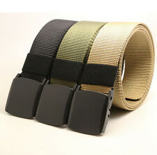 Belt Canvas Nylon Outdoor Fashion Military New Men Web Waistband Tactical Sports
