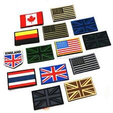 Muti Nation Flag Emblem Patch Embroidered Applique National Country Sew Trim New
