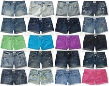 AEROPOSTALE WOMENS DENIM SHORTS SHORTY BERMUDA BOYFRIEND JEAN MIDI ALL SIZE AERO
