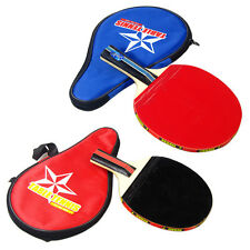Sport Ping Pong Table Tennis Long Handle Racket Paddle With Waterproof Pouch