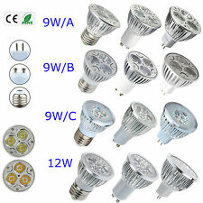 Epistar LED 9W 12W MR16 E27 GU10 Dimmable Light Bulb Lamp Spotlight Warm Cool