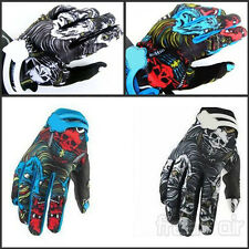 Skull Fox Platinum Riding Cycling Motorcycle Motocross Driving Bike Gloves