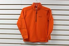 Marmot Boy's 100Wt Micro Fleece Rocklin 1/2 Zip Sunset Orange 83960 New With Tag