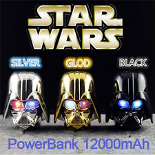 Colorful Portable Starwars Power Bank Charger Battery 12000mAh For Cell Phone