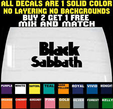 BLACK SABBATH DECAL BUMPER STICKER CAR TRUCK LAPTOP VINYL BUY 2 GET 1 FREE