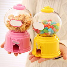 Sweets Mini Candy Machine Retro Gumball Candy Dispenser Saving Coin Bank Kid Toy