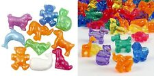 10 to 100 Mixed Colours Animals or Transport Novelty Pony Beads