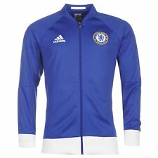 adidas Mens Gents Chelsea Football Club Jacket Sport Zipped Graphic Clothing