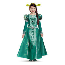 Girls Shrek Deluxe Fiona Halloween Costume