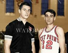 CM253 Bobby Knight & Mike Krzyzewski 1966 8x10 11x14 16x20 Colorized Photo