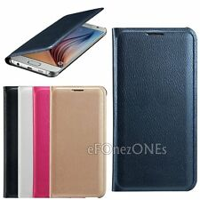 Luxury Leather book Card Holder Wallet Flip Case Cover for Samsung Galaxy Phones