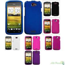 Phone Case Cover For T-Mobile HTC One S Snap On Hard Plain Glossy Solid Color