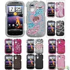 Phone Case Cover For HTC Amaze 4G Bling Rhinestones Diamond Protector