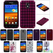 Soft Gel Skin Case Cover For SAMSUNG R760 (Galaxy S II) D710(Epic 4G Touch)