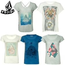 VOLCOM women's T-Shirt Tee New Womens T-shirt NEW TOP Various SURFING Skate Rock