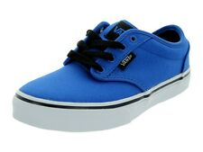 VANS KIDS ATWOOD (CANVAS) BLUE/BLACK   BRAND NEW