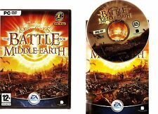THE LORD OF THE RINGS THE BATTLE FOR MIDDLE EARTH. SUPERB RTS FOR THE PC!!