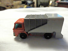 MATCHBOX SERIES NO 7 REFUSE TRUCK - MADE IN ENGLAND BY LESNEY