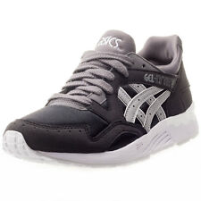 Asics Onitsuka Tiger Gel-lyte V Gs Womens Trainers Black Grey New Shoes