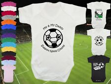 NOTTS COUNTY Football BABYGROW/Vest/Bodysuit/Romper - Boy/Girl- Personalise Gift